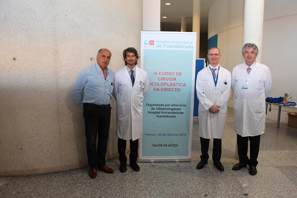 El centro realizó una decena de cirugías en directo en un curso dirigido a oftalmólogos especialistas y residentes