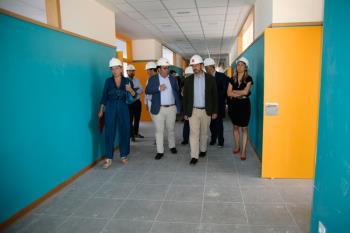 El presidente en funciones de la Comunidad de Madrid ha estado acompañado por el alcalde
