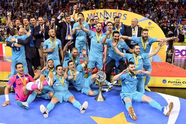 El Inter Movistar sigue en la cima mundial del fútbol sala