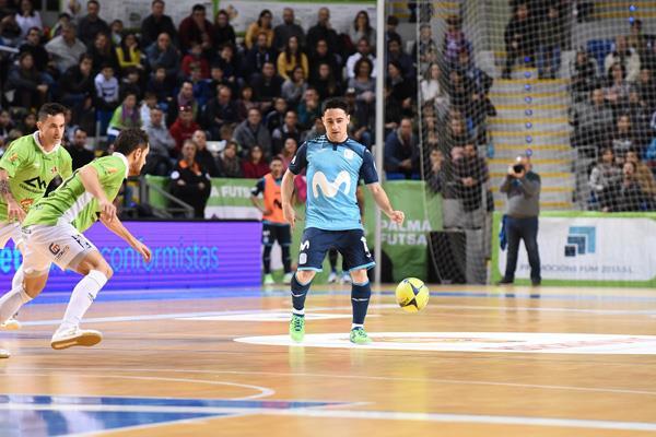 El Inter mantiene el liderato con una sufrida victoria ante Palma Futsal