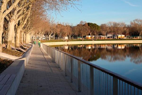El Lago de la Casa de Campo, renovado