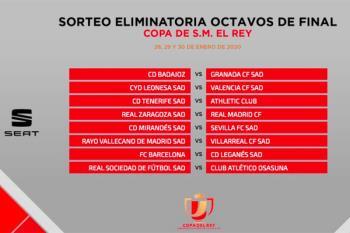 Los de Javier Aguirre se enfrentarán al Barça en la siguiente ronda copera