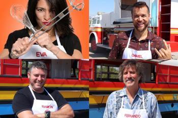Daniel Escribano, Ramón Martín, Eva Sakay y Fernando Alvear asentarán sus food trucks en Boadilla del 21 al 23 de septiembre
