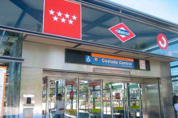 Las obras del tramo desde el Hospital del Henares al Estadio Metropolitano de la línea 7B han finalizado