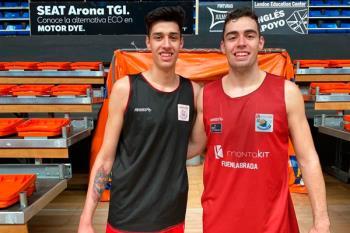 Juanjo Santana y Juan Fernández, refuerzos de Paco García ante las bajas por la ventana FIBA
