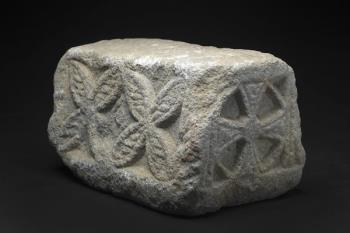 La pieza de origen visigodo ha llegado al museo mediante la donación de la familia Fernández Álvarez