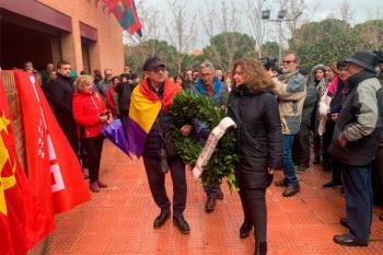 Los populares se refieren al acto de homenaje a los 'Abogados de Atocha' en el parque anexo al Buero Vallejo