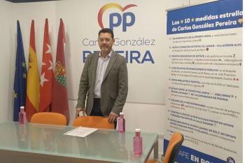 Carlos González Pereira ha presentado las 10 medidas estrella de su programa