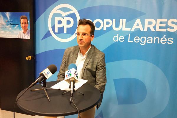 El PP de Leganés reivindica su papel en la política local