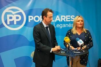 La presidenta de la Fundación Víctimas del Terrorismo compareció junto a Miguel Ángel Recuenco