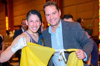 La boxeadora Miriam Gutiérrez, número 2 en las listas de los populares para los comicios