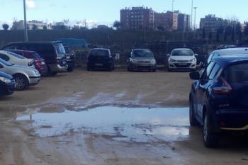 Desde la formación popular exigen la adecuación de varios solares en aparcamientos