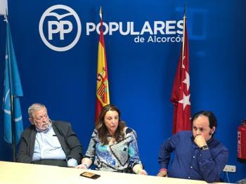 """Antonio Beteta: """"PSOE, Ganar Alcorcón, Izquierda Unida y Ciudadanos están pegando una patada en el culo a Alcorcón para fastidiar al PP"""""""