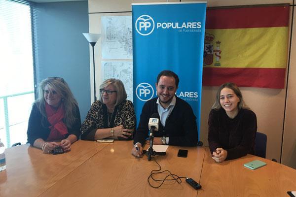 El PP pide alternativas a la política de subvenciones del Ayuntamiento