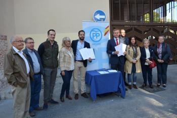 Una iniciativa que han presentado en un acto que ha contado con la presencia del Secretario de Política Local del PP, Antonio González Terol