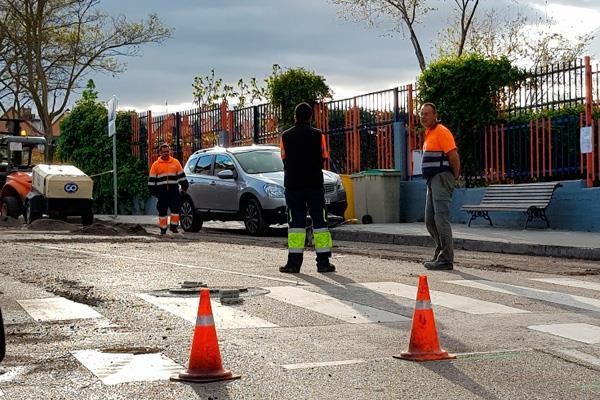 El PSOE de Pozuelo pide el aplazamiento de la campaña de asfaltado