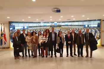 Los socialistas participaron en el Comité de las Regiones y recibieron formación sobre captación de fondos europeos
