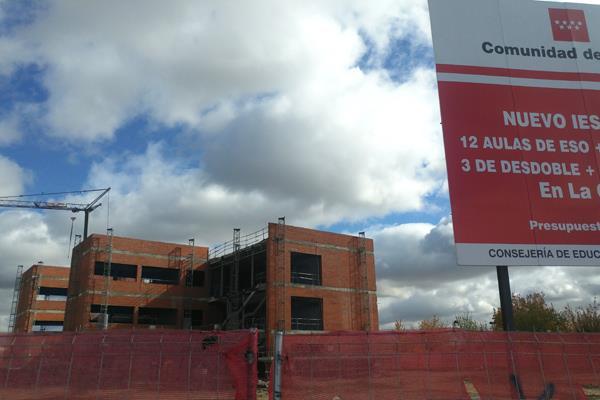 El PSOE reclamará el domingo junto a los vecinos de La Garena la finalización de las obras del Instituto