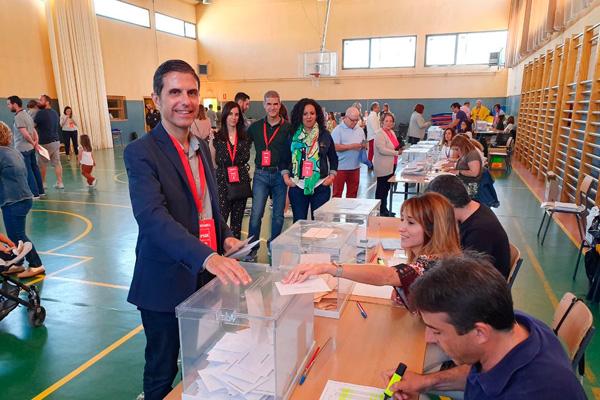 El PSOE obtenía un total de 12 escaños; le sigue, Cs con 6; PP con 5 y Vox y Unidas Podemos 2 escaños cada grupo