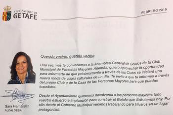 La alcaldesa quiere vender la gestión realizada pagada por el Ayuntamiento