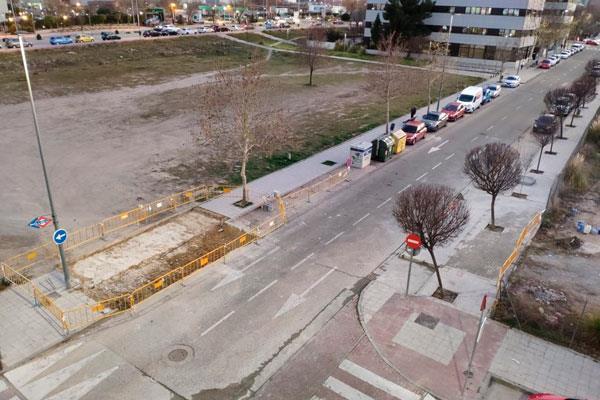 """El Partido Popular exige al Gobierno la """"paralización inmediata"""" del aparcamiento de la Dehesa Vieja"""