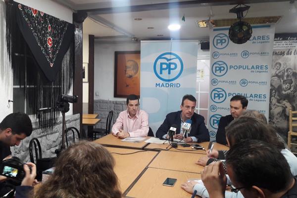 El PP de Leganés pedirá la reprobación del alcalde, Santiago Llorente