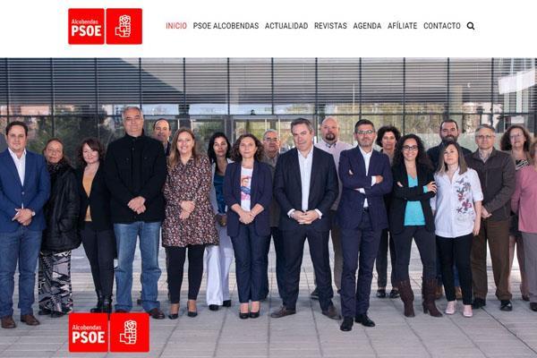 El PSOE de Alcobendas estrena página web