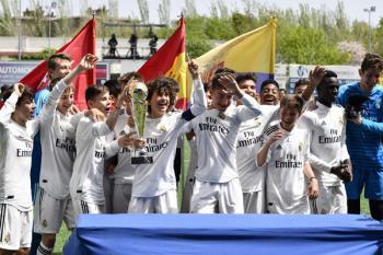 Los blancos se llevaron la victoria en un torneo con la presencia del Valencia, el Valladolid y el Periso