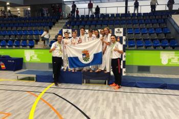 El club fuenlabreño lo ha logrado en la categoría kumite juvenil en el torneo celebrado en Boadilla