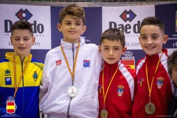El club fuenlabreño participó en el torneo nacional de categoría infantil en Albacete
