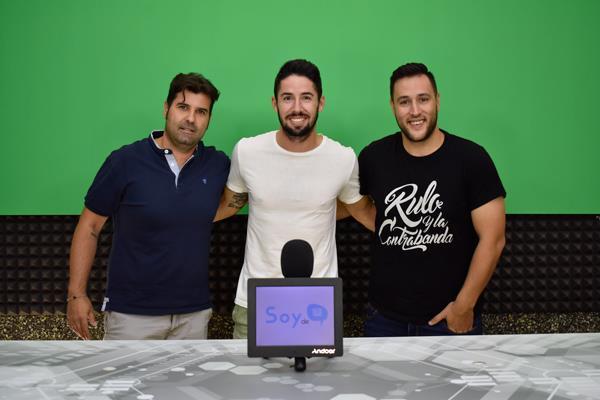El Silbato con Hugo Fraile, el primer goleador del Fuenla en Segunda división