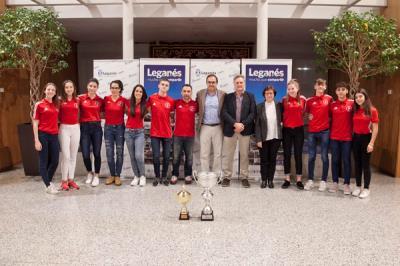 Lee toda la noticia 'El Club Sánchez Élez celebra su Campeonato de Europa con un nuevo centro de entrenamiento en Arroyo Culebro'