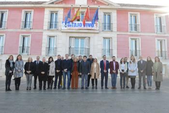 Humanes de Madrid y otros municipios del sur estuvieron representados en el encuentro con David Pérez