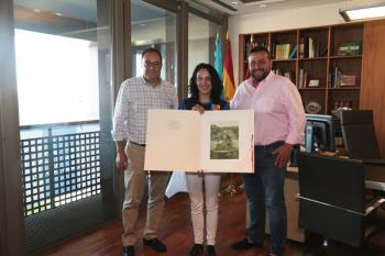 La deportista del Club Arqueros de Leganés recibió el apoyo del consistorio pepinero