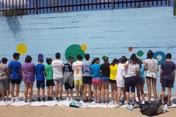 Los alumnos y alumnas han colaborado con ONGs y participado en charlas