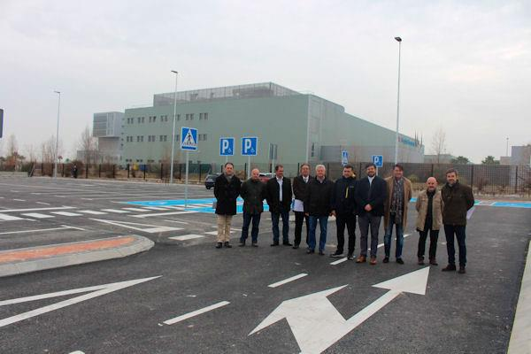 El aparcamiento  anexo al Hospital Infanta Sofía, ya operativo
