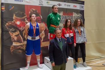 María González, Lucía Soto y Mónica Martín se suben al podio en el Torneo Internacional de Odivelas y en el Campeonato de España junior