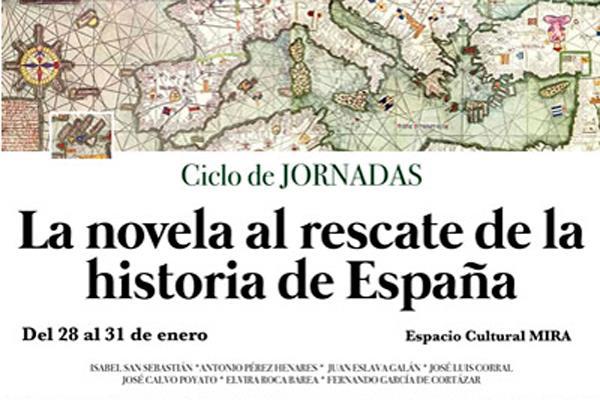 La novela al rescate de la historia de España