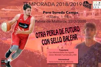 Será su estreno en edad sénior tras dos brillantes temporadas con el CB Fuenlabrada Júnior.