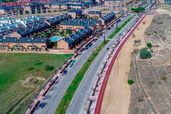 Con la inauguración del último tramo, Boadilla ya cuenta con más de 20 km de carril bici