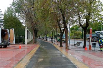 El Ayuntamiento de Móstoles ha rehabilitado el recorrido, añadiendo además tres aparcamientos para bicicletas y un panel informativo