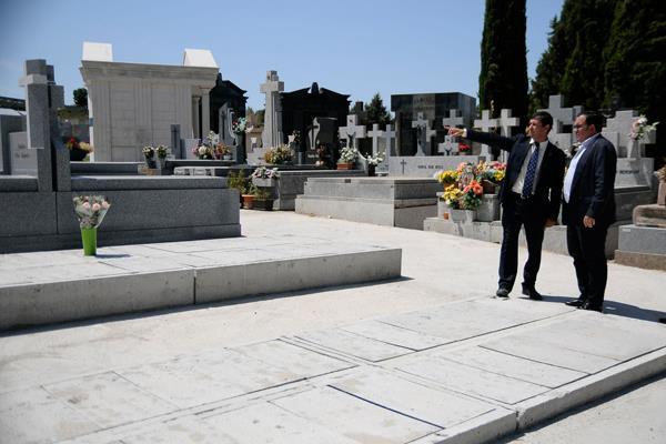 El cementerio municipal, con mayor capacidad