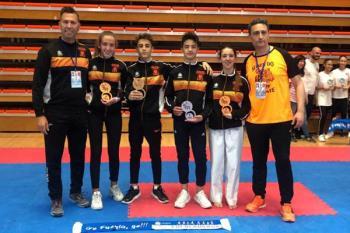Este fin de semana se ha celebrado el Campeonato Infantil Kata Go Fuenla Go y Open Internacional de Karate con un gran resultado para el club fuenlabreño