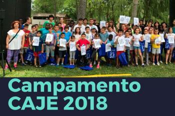 El objetivo de esta iniciativa para llevar a cabo el Campamento CAJE 2018