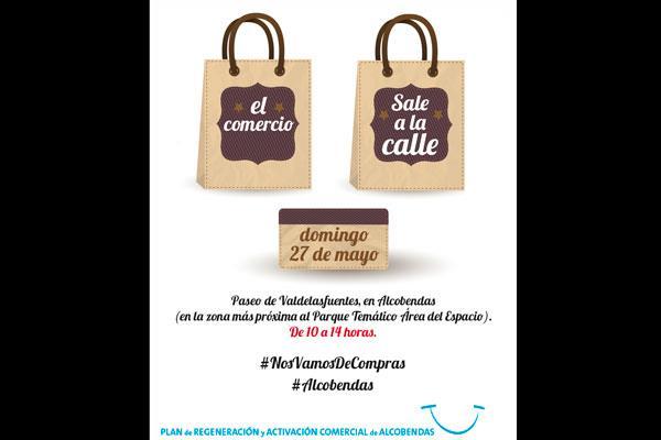 El próximo 27 de mayo 'El comercio sale a la calle' en Alcobendas