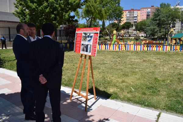 El consejero visitó algunas de las actuaciones del Programa de Inversión Regional