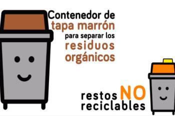 El distrito acoge los nuevos contenedores de residuos orgánicos