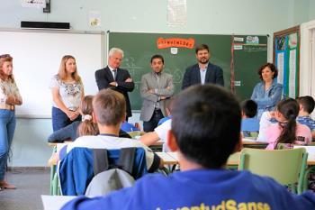 Las obras de conservación y mantenimiento en los centros educativos se realizaron en verano