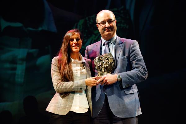 Móstoles celebró, en el Teatro del Bosque, una nueva edición de la tradicional Gala del Deporte Ciudad de Móstoles