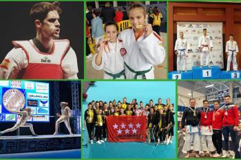 Nuestros deportistas han vuelto a cosechar diferentes victorias en diversas modalidades